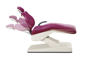 Electricity dental chair with compensation position